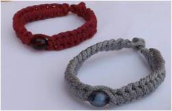 Coton et perles
