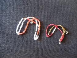 Triple rang petites perles