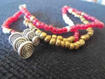 Bracelet triple rang et breloques Nouveauté 2015