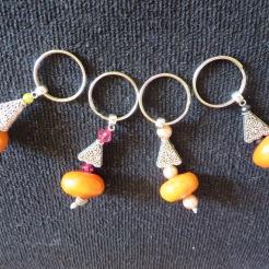 Porte-clés avec perle Nouveauté 2015
