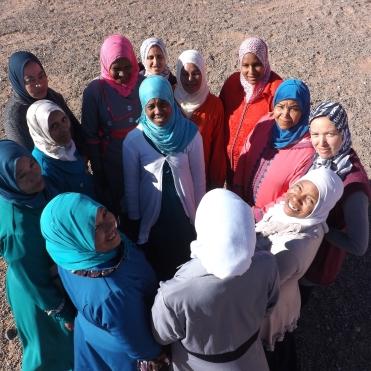 Les femmes de la coopérative Beija