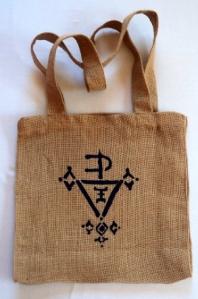 sac motif noir berbere