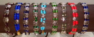 serie de bracelets
